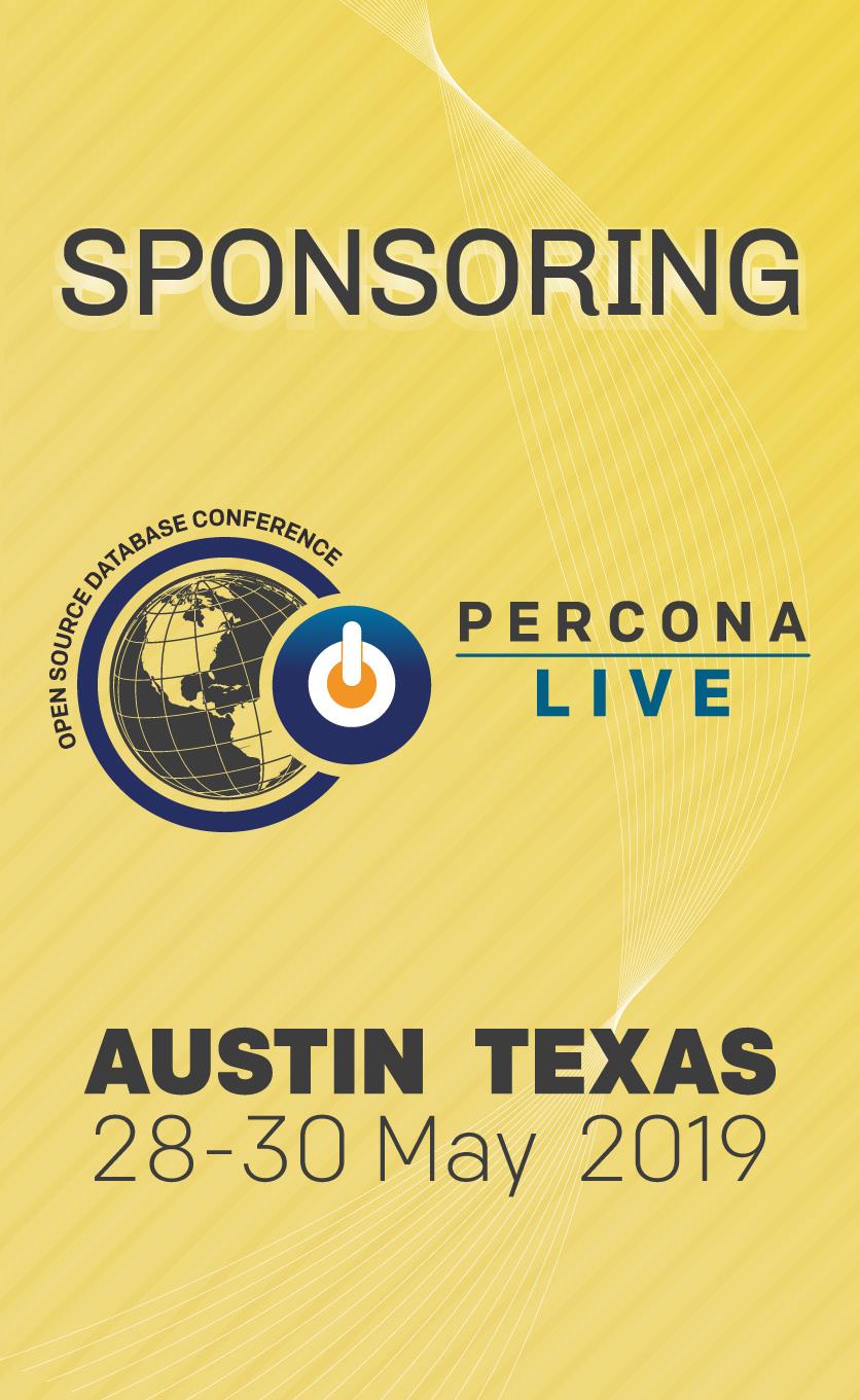 Percona Live 2019